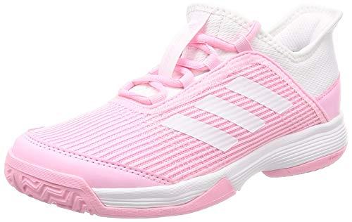 adidas Unisex-Kinder Adizero Club K Fitnessschuhe, Mehrfarbig (Multicolor 000), 34 EU (Tennis Jungen Kinder Schuhe)
