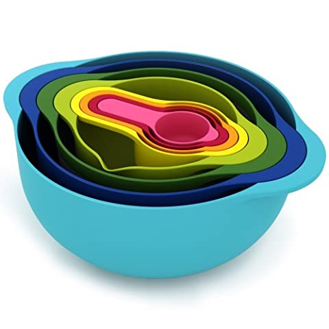 Joseph Joseph Nest 8 Food Preparation Bowl Set,