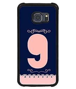 PrintVisa Nonagon Number 9 High Gloss Designer Back Case Cover for Samsung Galaxy S6 G920I :: Samsung Galaxy S6 G9200 G9208 G9208/Ss G9209 G920A G920F G920Fd G920S G920T