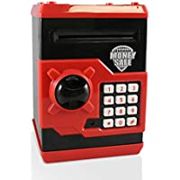 Adornlife Huchas, Hucha Dinero Bancos, Electrónica Digital Mini ATM Ahorro de Bancos, Cajas