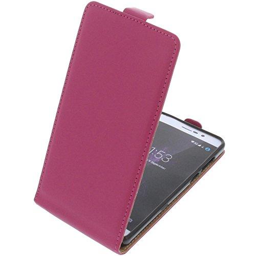 foto-kontor Tasche für Cubot P12 (z100) Smartphone Flipstyle Schutz Hülle pink