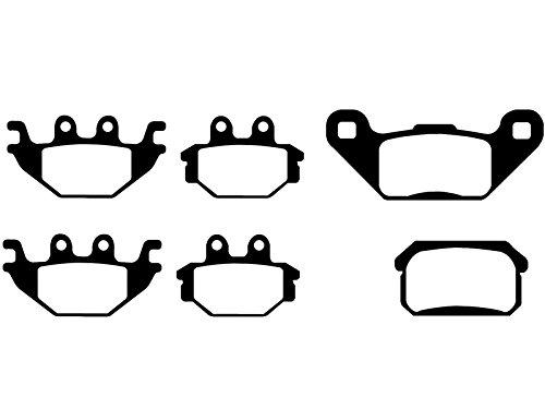 3x Bremsbeläge Can Am Outlander 1000 Max/MXR / LTD vorne + hinten ab Bj. 2013 - 2013 Am Can Outlander