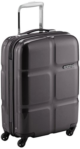 American Tourister Supersize Spinner 55/20 Maletas y trolleys, 55 cm, 30 L, Negro (Negro)