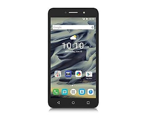 Alcatel Pixi 4 smartphone débloqué 4G (Ecran: 6 pouces - 16 Go - Double Nano-SIM - Android 6.0) Noir