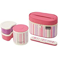 Trend line jar with warm pink lunch box KCLJ7DX (japan import) by Skater