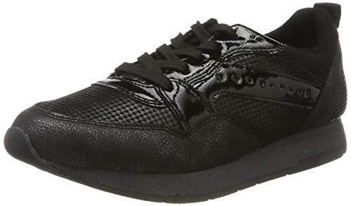 Tamaris Damen 1-1-23604-23 Sneaker, Schwarz (Black Comb 98), 37 EU