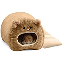 ROSENICE Plush Hammock for Hamster Warm Hanging Warm Soft Bed for Rat Rabbit