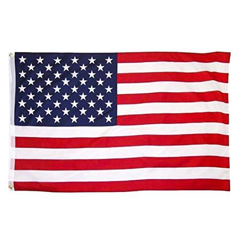 sche Flagge US Vereinigte Staaten Stern-Streifen Mit Messing Tüllen Für Indoor Outdoor Leuchtende Farben Polyester-Flagge ()