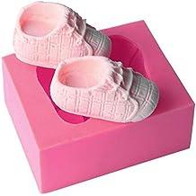 Lindo molde de silicona con forma de bebé para decoración de ...