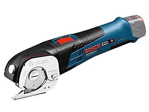 Bosch Professional 06019B2905 Cisaille universelle sans-fil GUS 12V-300 Solo Click&Go L-Boxx, Bleu