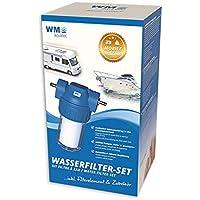 WM aquatec Wasserfilter-Set Mobile Edition inklusive Zubehör für Wohnmobil, Caravan und Boot