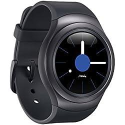 """Samsung Gear S2 Sport - Smartwatch (1.2"""", Tizen, 512 MB de RAM, memoria interna de 4 GB), color gris oscuro [Versión importada: Podría presentar problemas de compatibilidad]"""