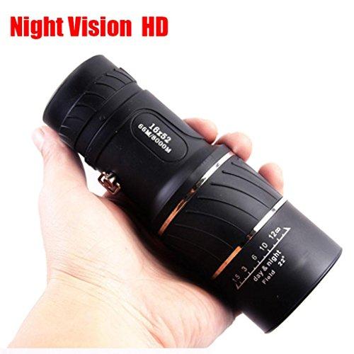 Télescope monoculaire Panda 16 * 52 Rawdah Télescope à Vision...