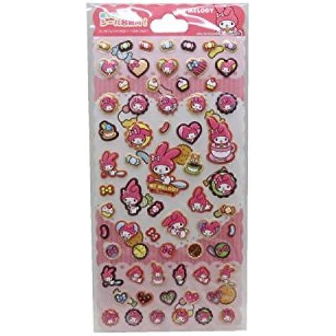 Beautiful My Melody singolo foglio adesivo Set Cupcake e Candy collezione