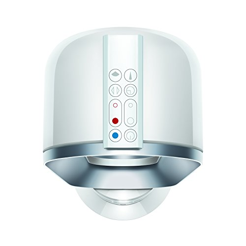 Dyson AM09 Hot + Cool Fan Heater – White/Nickel