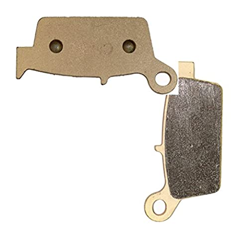 Hinten Sintered HH Bremsbacken Pad fit KAWASAKI Dirt KX250 KX 250 06 07 08 09 10 11 12 13 14 15 2006 2007 2008 2009 2010 2011 2012 2013 2014 2015 1 Pair(2 Pads)