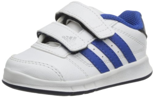 Weiß (RUNNING WHITE FTW / SATELLITE / COLLEGIATE NAVY)Adidas Schuhe Baby LK Trainer 5 CF I runwht/satel, Größe Adidas:26