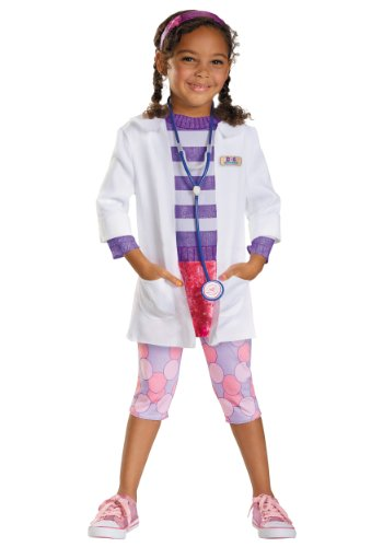 Toddler Doc McStuffins Deluxe Fancy dress costume 3T/4T