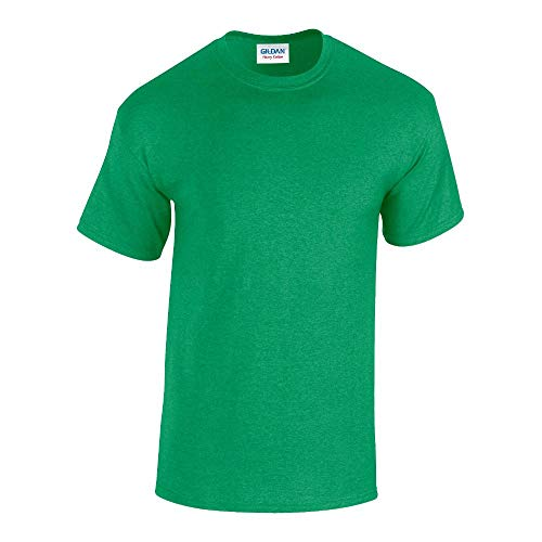 Gildan - Heavy Cotton T-Shirt '5000' / Antique Irish Green, S -