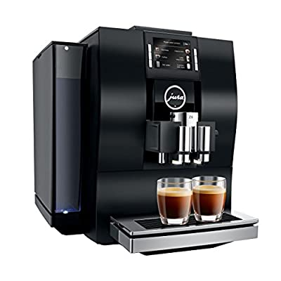 JURA 15163 Z6 Coffee Machine, 1450 W, Aluminium Black