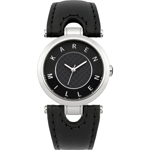 Karen Millen KM110B Reloj de Damas
