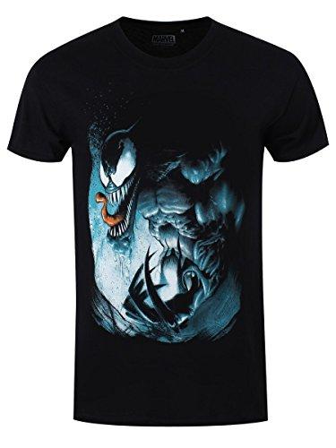 Spider-Man Venom - Angry T-Shirt schwarz L (Spiderman Venom Maske)