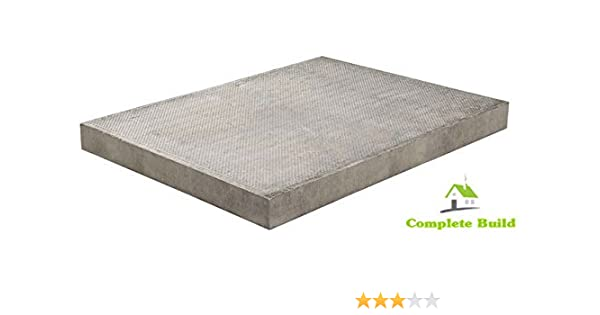 Marshalls Council Paving Slabs Flags BSS Pressed Natural Grey Pimple 600mm x 900mm x 50mm x 35 DELIVERIES TO MAINLAND UK ONLY