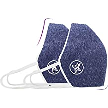 Arctic Fox AIW V2 Washable Blue Mask (BLUE , Pack of 2)