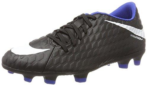 1f613bafaa Nike Hypervenom Phade III Fg, Scarpe da Calcio Uomo, Nero (Black/Black