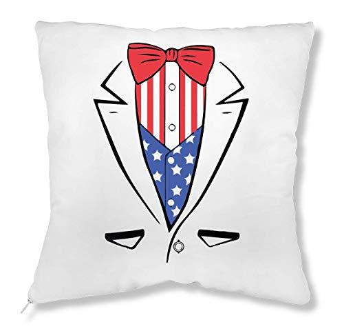 Always Suited Up Flag Tuxedo A Bow Tie Kissen - Möbel Tuxedo