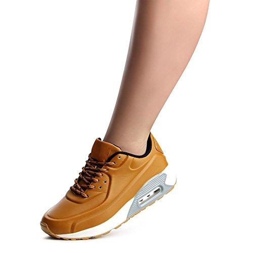 topschuhe24785Femme Sneaker Chaussures de sport Marron - Camel