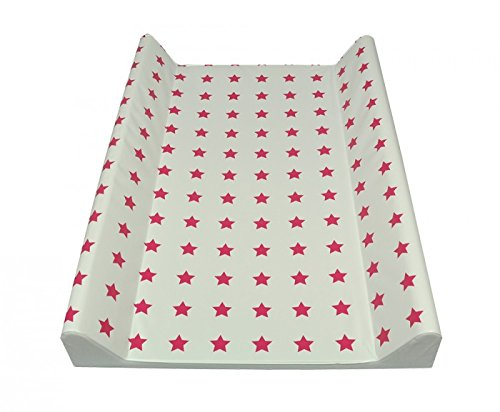Fasciatoio 50 x 70 cm o 75 x 85 (70 x 50 cm a due a cunei, stelle, pink)