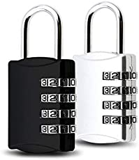 Dkdas 4 Digit Luggage Lock Best for International Travelling Approved by Avaiable in (Multi Color)