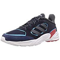 adidas 90S Valasion, Men's Road Running Shoes, Black (Core Black/Ftwr White),8.5 UK (42 2/3 EU)