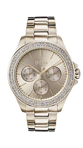 Hugo Boss Femmes Multi-cadrans Quartz Montres bracelet avec bracelet en Or Rose - 1502443