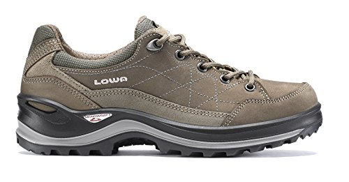 """Lowa Rene gade III GTX Lo """"stretto"""" donna-scarpe da trekking da (pietra) Grigio - grigio"""
