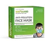 Bodyguard Anti Pollution Face Mask (Black) - Set of 1