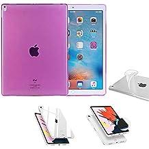 Hart Glas Tablet & Ebook-zubehör Für Apple Ipad Pro 12.9 Zoll 2018 Lila Etuis Hülle Tasche Kunstleder Computer, Tablets & Netzwerk