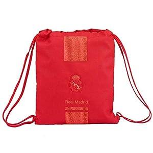 Real Madrid CF- Real Madrid Saco Mochila, Color Rojo (SAFTA 611957196)