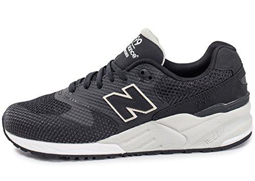 New Balance Lifestyle 999 unisex adulto, tela, sneaker bassa Black