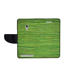 KolorEdge Printed Flip Cover For Asus Zenfone 4 A450CG Multicolor - (45KeMLogo11762Zen4A450CG)