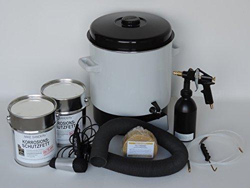 Preisvergleich Produktbild Mike Sanders Verarbeitungs SET mit 8 kg Mike Sander Korrosionsschutzfett
