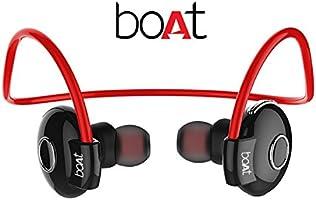boAt Rockerz 210 In-Ear Bluetooth Earphones with Microphone (Red/Black)