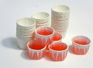 Paper Jello Shot Cups - 250 per box, Garden, Haus, Garten, Rasen, Wartung