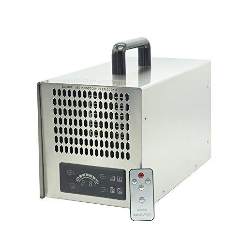 Profi Ozongenerator 5000 bis 20000mg/h- 5g-20g/h einstellbar Timer leistungsstark Ozone Generator mit Fernbedienung 220-240v