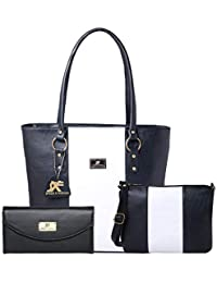 Speed X Fashion Women's Handbag And Sling Bag With Hand Clutch Combo Of 3 Pics (N00STY)