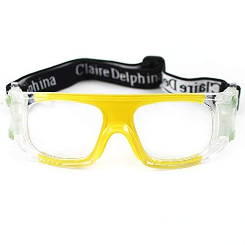 Future Shield Schutzbrille mit klarem Anti-Beschlag, Kratzfest, Schutzbrille, umlaufende Gläser, rutschfeste Griffe, UV-Schutz, Anti-Staub, Verstellbarer Riemen für Sportlabor, Industy