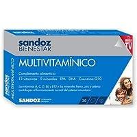 SANDOZ BIENESTAR MULTIVITAMÍNICO 30 CAPSULAS