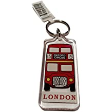 Classic Red Routemaster Bus Key Ring / Keyring / Key Chain Souvenir Quality Red Acrylic London Icon Roten Bus Schlusselring / Autobus rojo llavero / Bus Rouge Porte-clés / Bus Rosso Portachiavi Iconic Decal Custom Collection. S01 by My London Souvenirs