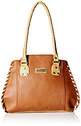 Fantosy Women's Handbag (Tan and Beige) (FNB-289)